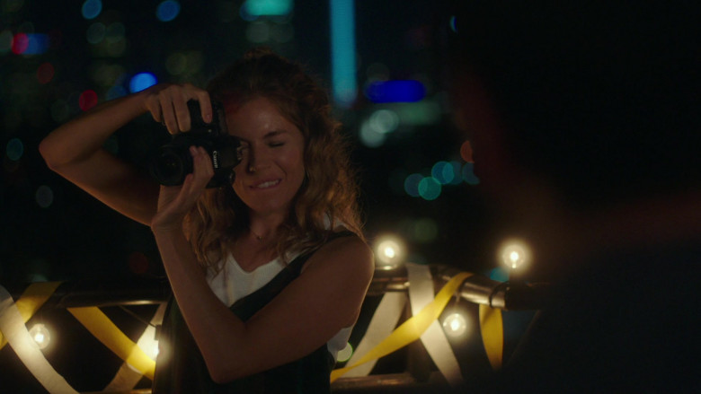Canon Camera of Sienna Miller in Wander Darkly