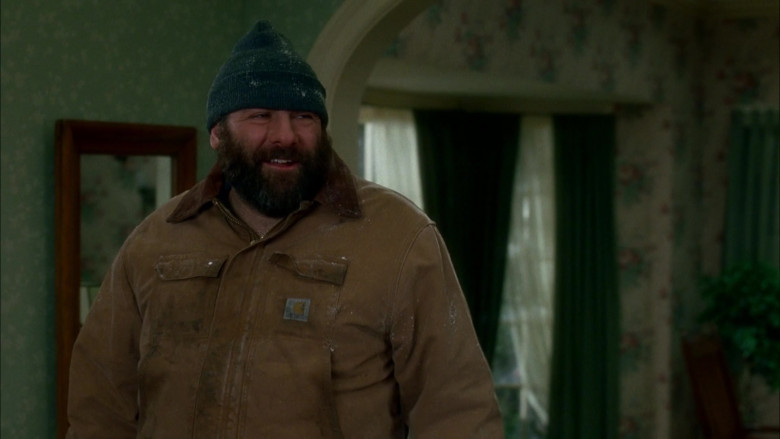 Carhartt Men's Jacket of Actor James Gandolfini as Tom Valco in Surviving Christmas Movie (2)