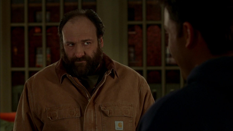 Carhartt Men's Jacket of Actor James Gandolfini as Tom Valco in Surviving Christmas Movie (5)