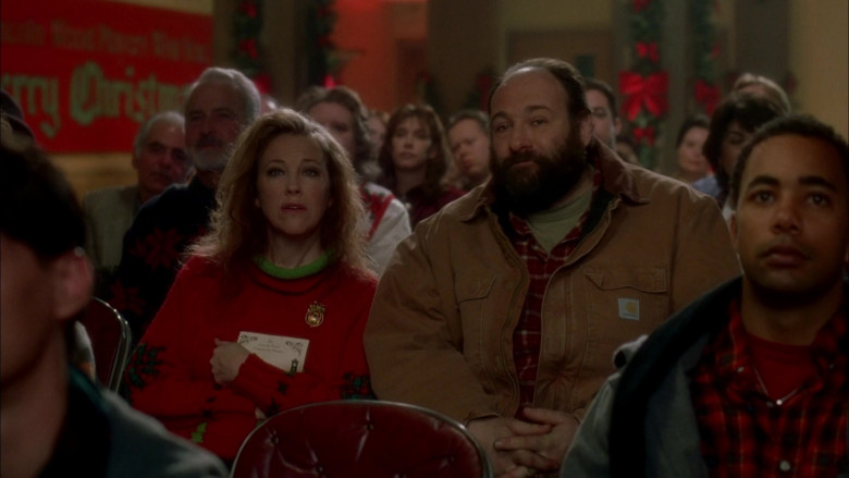Carhartt Men's Jacket of Actor James Gandolfini as Tom Valco in Surviving Christmas Movie (6)