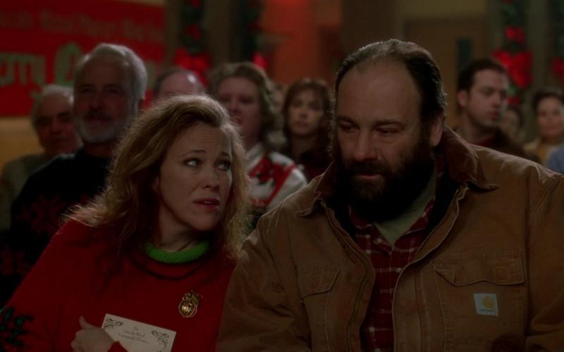 Carhartt Men's Jacket of Actor James Gandolfini as Tom Valco in Surviving Christmas Movie (7)