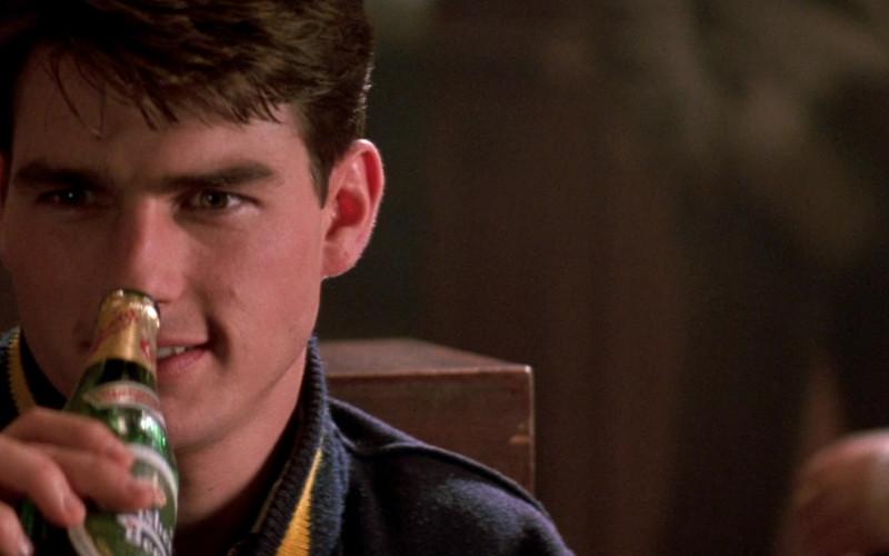 Carlsberg Beer of Tom Cruise as Lieutenant Daniel Kaffee in A Few Good Men (1992)