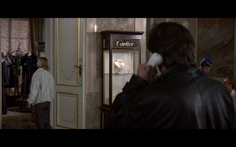 Cartier Jewelry in The Living Daylights (1987)