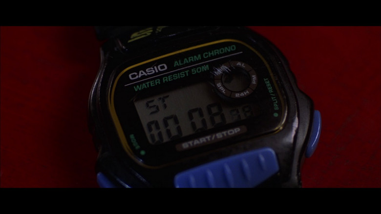 Casio Alarm Chrono Men's Watch in The Jackal (1997)