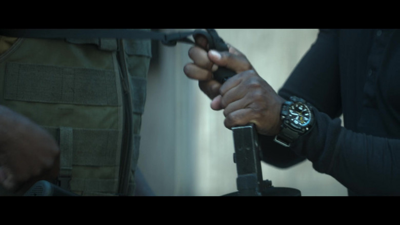 Casio G-Shock Men's Watch of Anthony Mackie as Leo in Outside the Wire 2021 Netflix Movie (1)