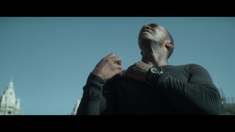 Casio G-Shock Men's Watch of Anthony Mackie as Leo in Outside the Wire 2021 Netflix Movie (3)