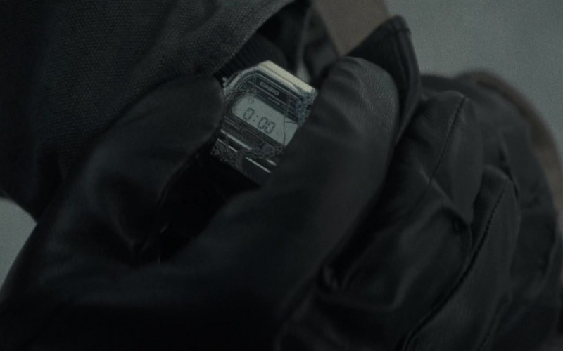 Casio Men's Watch of Anthony Mackie as Steve Denube in Synchronic Movie (1)