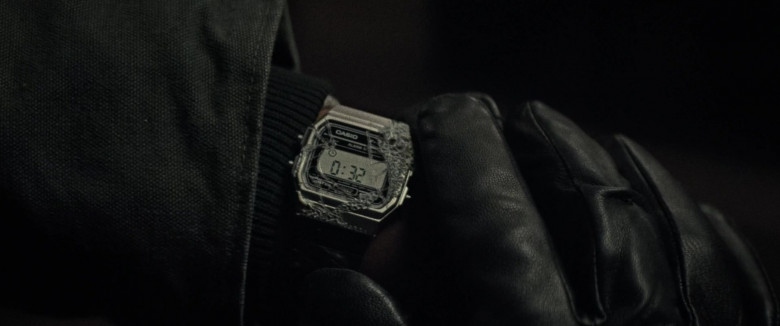 Casio Men's Watch of Anthony Mackie as Steve Denube in Synchronic Movie (2)