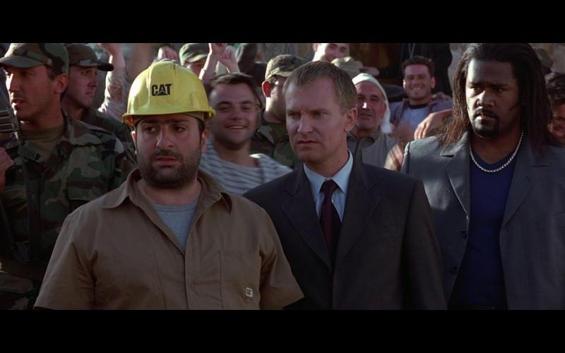 Caterpillar Helmet & Shirt in The World Is Not Enough (1999)
