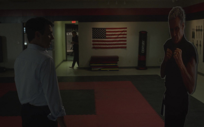 Century Punching Bag in Cobra Kai S03E01 (1)