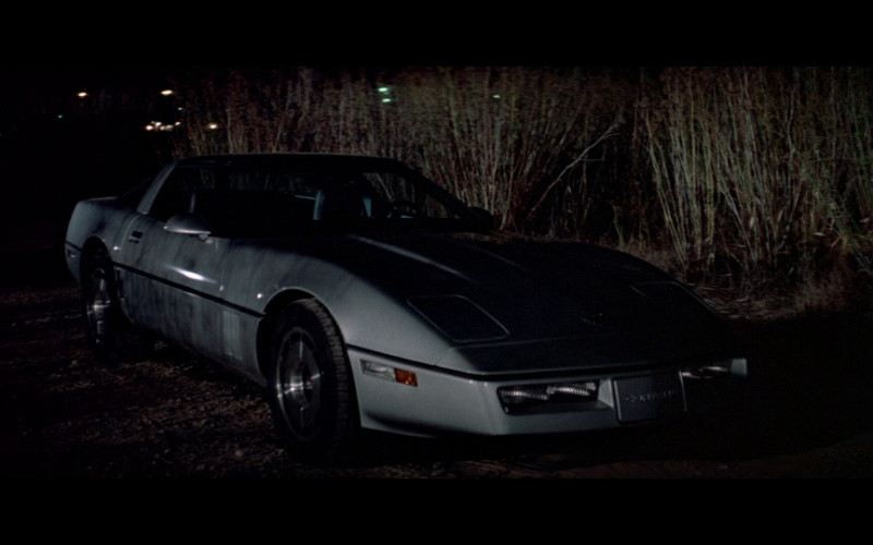 Chevrolet Corvette Car in A View to a Kill (1985)