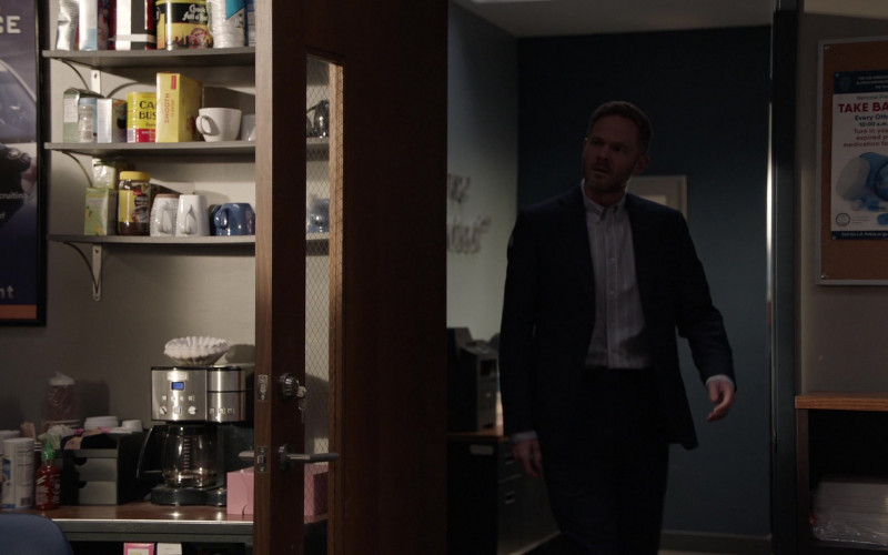 Chock full o'Nuts Coffee in The Rookie S03E01