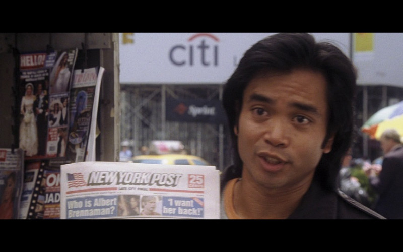 Citibank & New York Post in Hitch (2005)