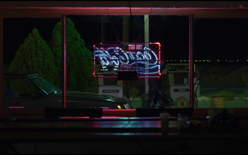 Coca-Cola Sign in The Little Things (2021)