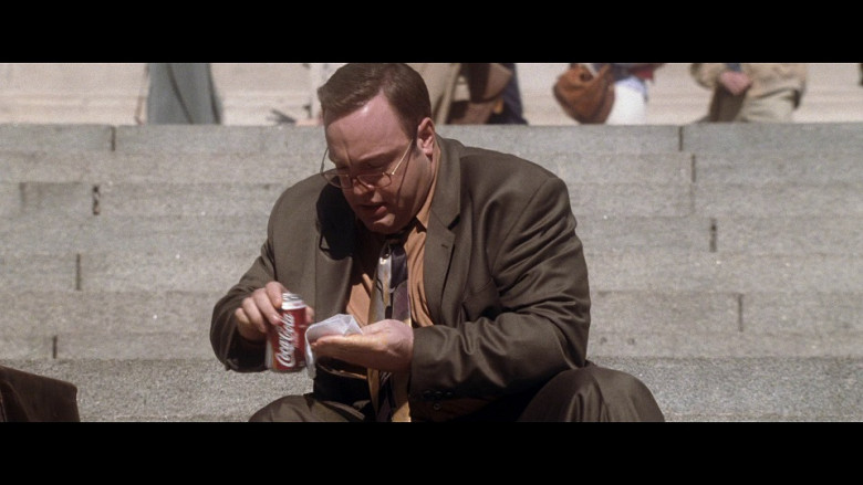 Coca-Cola Soda Drink Enjoyed by Kevin James as Albert Brennaman in Hitch (2005)