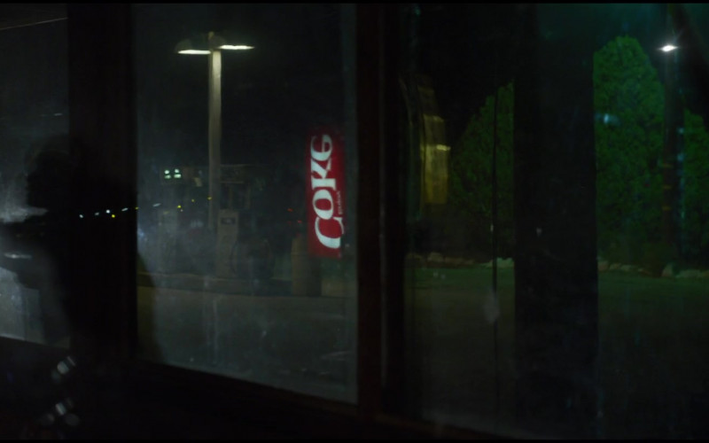 Coca-Cola Vending Machine in The Little Things (2021)