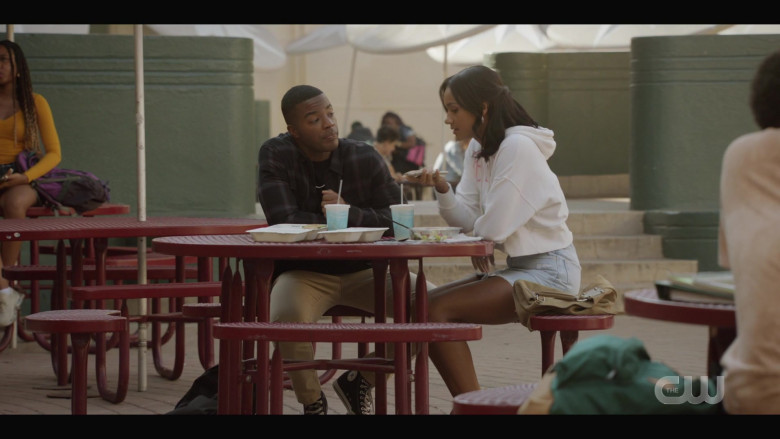 Converse High Top Sneakers of Daniel Ezra as Spencer James in All American S03E02 How to Survive in South Central (2021)
