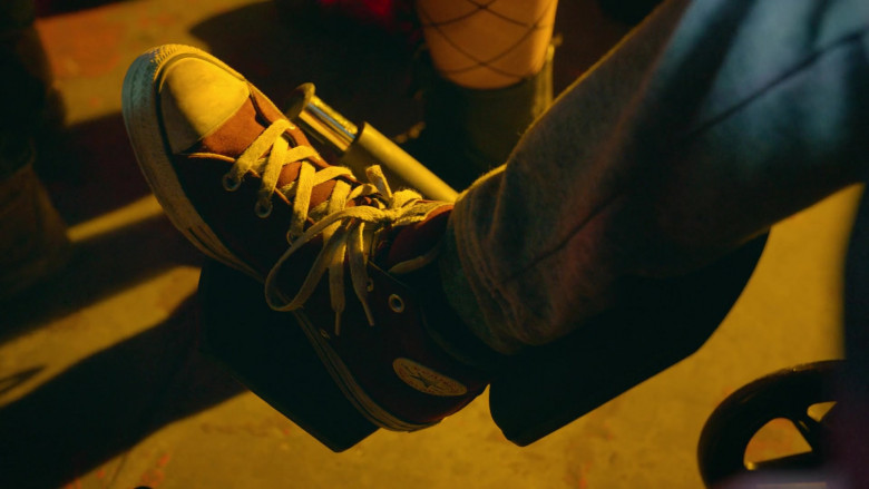 Converse Men's Chuck Taylor All Star Sneakers of Xolo Maridueña as Miguel Diaz in Cobra Kai S03E05 (1)