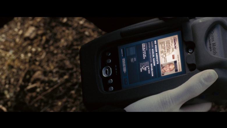Cross Match Technologies Device in Eagle Eye (2008)