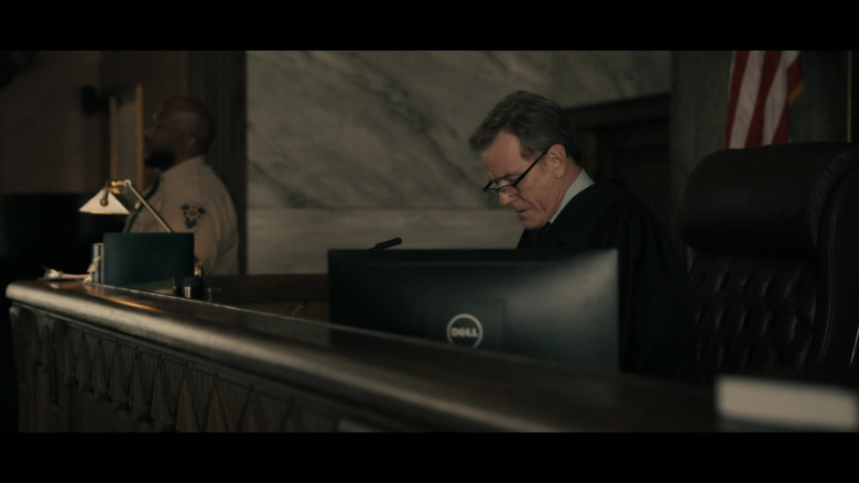 Dell Computer Monitor Used by Bryan Cranston as Michael Desiato in Your Honor Episode 7 Part Seven (2021)