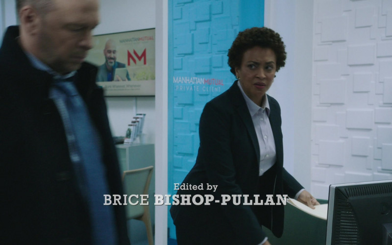 Dell Computer Monitor in Blue Bloods S11E05 Spilling Secrets (2021)
