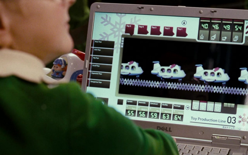 Dell Laptop in Fred Claus (2007)