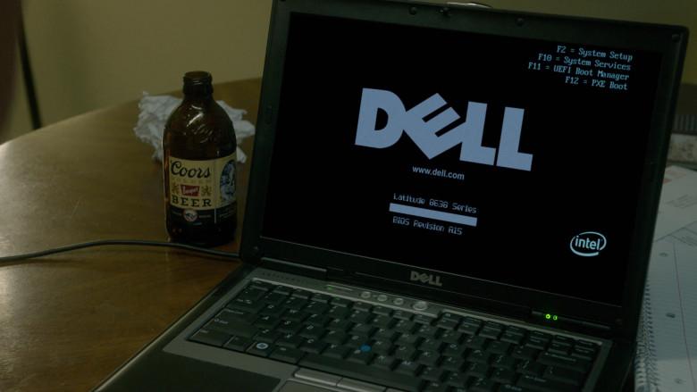 Dell Laptop of William Zabka as Johnny Lawrence in Cobra Kai S03E05 (3)