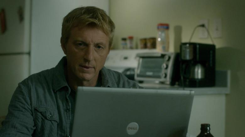 Dell Laptop of William Zabka as Johnny Lawrence in Cobra Kai S03E05 (4)