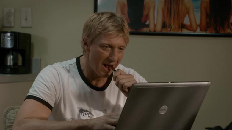 Dell Laptop of William Zabka as Johnny Lawrence in Cobra Kai S03E07 (1)
