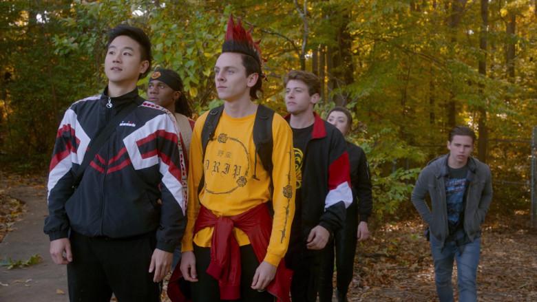 Diadora Men's Jacket of Joe Seo as Kyler in Cobra Kai S03E09 (1)
