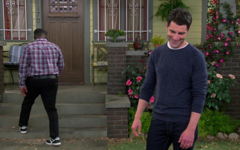 Diadora Men's Sneakers Worn by Cedric the Entertainer as Calvin in The Neighborhood S03E08