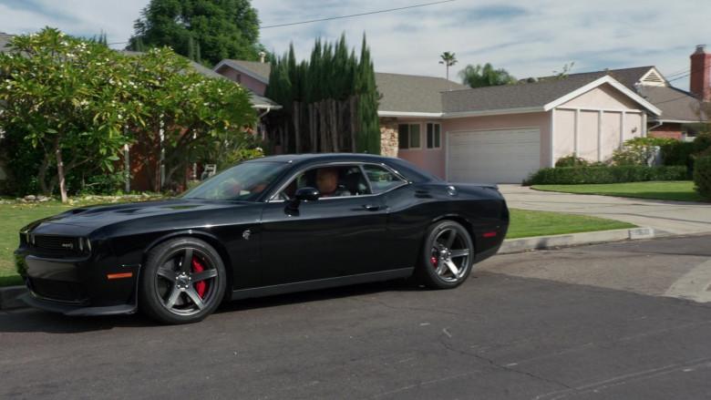 Dodge Challenger SRT Black Car of Sam Hanna (LL Cool J) in NCIS Los Angeles S12E07