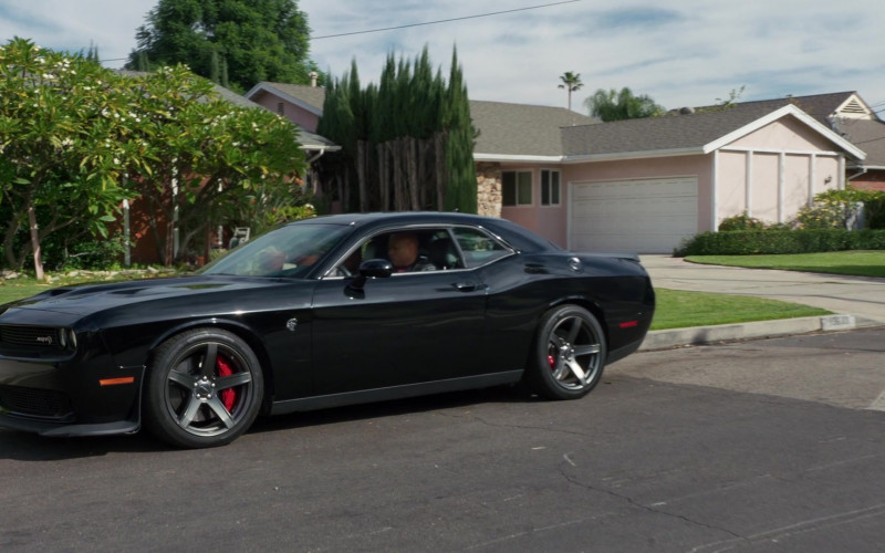 Dodge Challenger SRT Black Car of Sam Hanna (LL Cool J) in NCIS Los Angeles S12E07