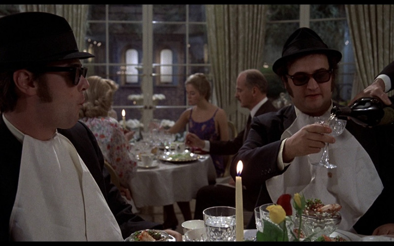 Dom Pérignon champagne in The Blues Brothers (1980)