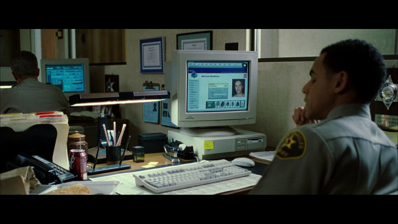 Dr. Pepper Can & CTX Monitor in S.W.A.T. (2003)