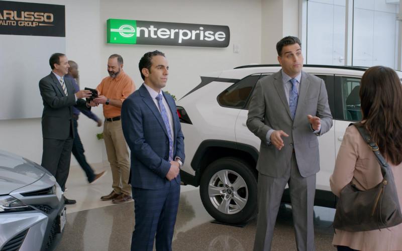 Enterprise Rent-A-Car Sign in Cobra Kai S03E06
