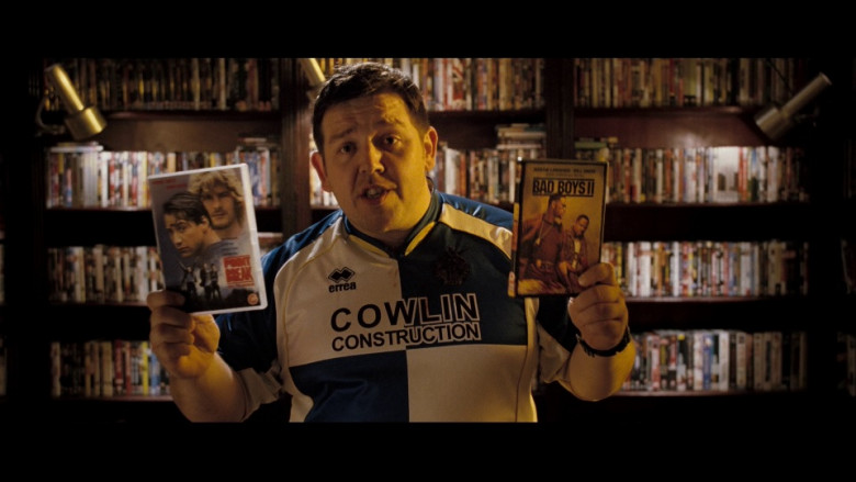Erreà Shirt of Nick Frost in Hot Fuzz (2)