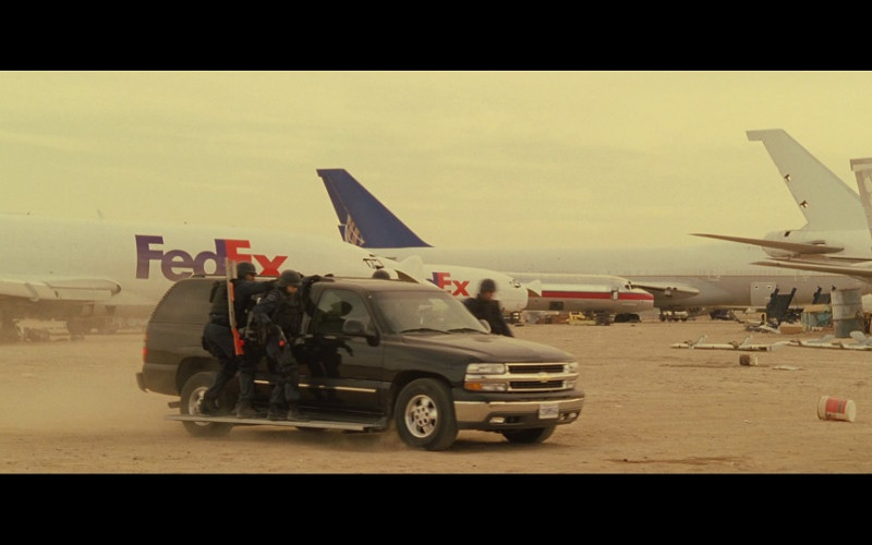 FedEx Planes in S.W.A.T. (2003)