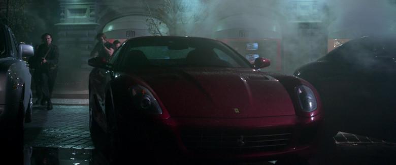 Ferrari 599 GTB Red Sports Car in Resident Evil Retribution (2012)