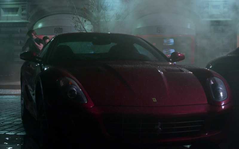 Ferrari 599 GTB Red Sports Car in Resident Evil Retribution (2012)