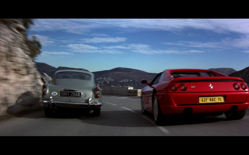 Ferrari F355 GTS Red Sports Car in GoldenEye (1995)