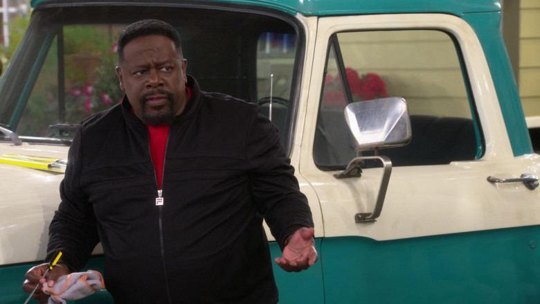 Fila Men's Jacket of Cedric the Entertainer as Calvin Butler in The Neighborhood S03E06 (1)