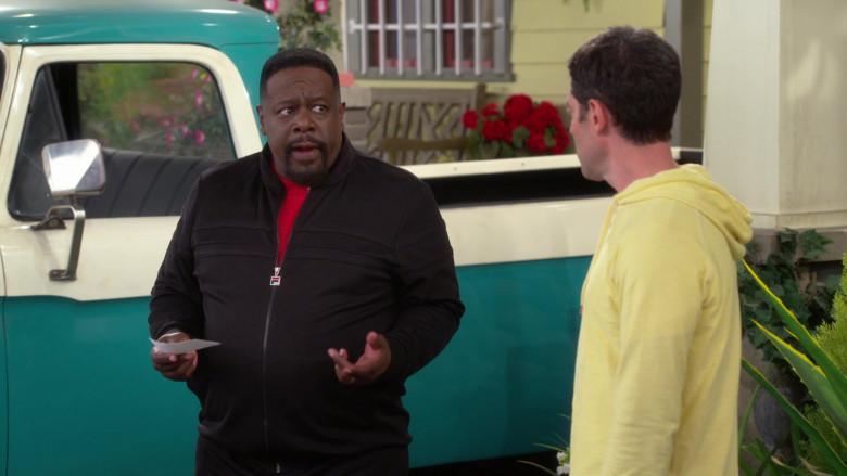 Fila Men's Jacket of Cedric the Entertainer as Calvin Butler in The Neighborhood S03E06 (2)