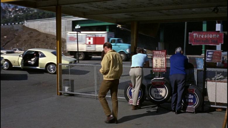 Firestone Tires in Bullitt (1968)