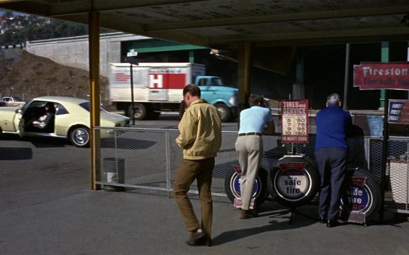 Firestone Tyres in Bullitt (1968)