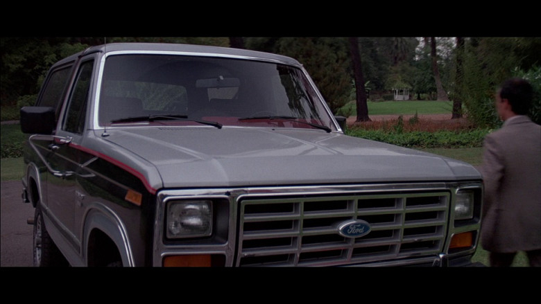 Ford Bronco Car in A View to a Kill (1985)