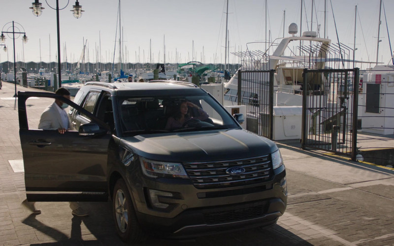 Ford Explorer Car of Necar Zadegan as Hannah Khoury in NCIS New Orleans S07E05