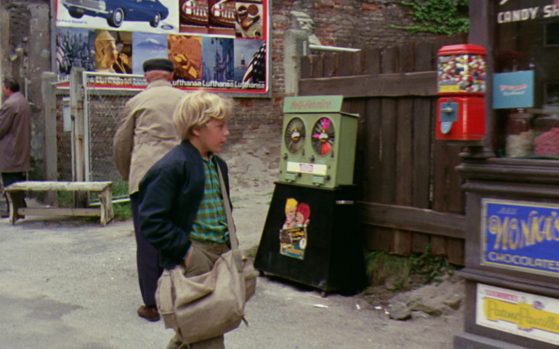 Ford and Lufthansa Ads (Billboard) in Willy Wonka & the Chocolate Factory (1971)