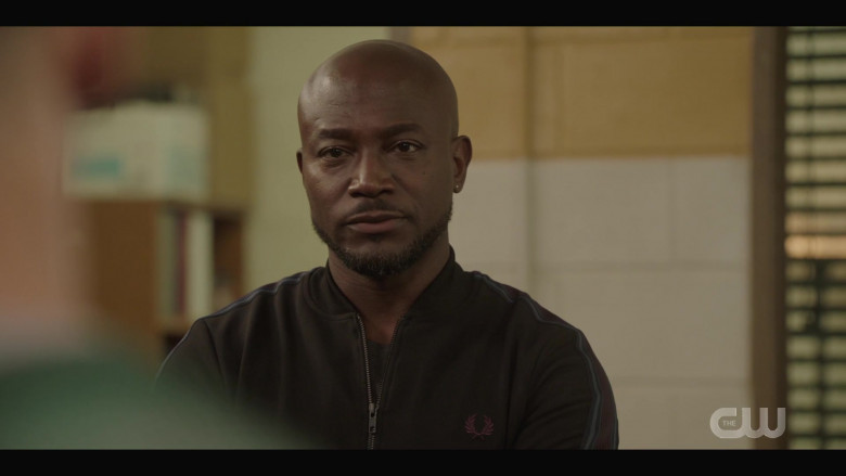 Fred Perry Men's Sports Jacket of Taye Diggs as Billy Baker in All American S03E02 How to Survive in South Central (1)