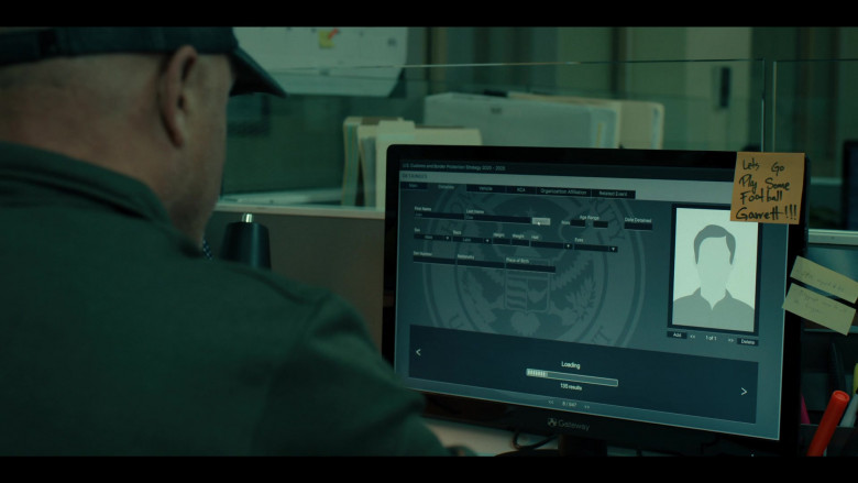 Gateway Computer Monitor in Coyote S01E04